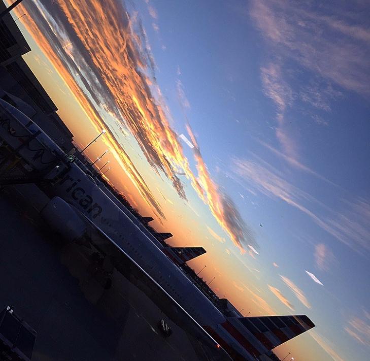 Flying home for Christmas